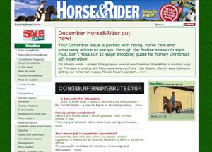 horse-rider-website